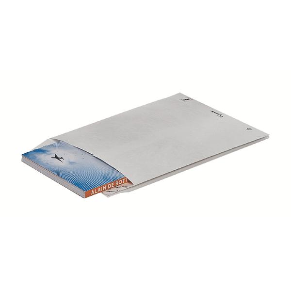 Tyvek Pocket C5 Envelopes 229x162mm Peel and Seal White (Pack of 100) 551024
