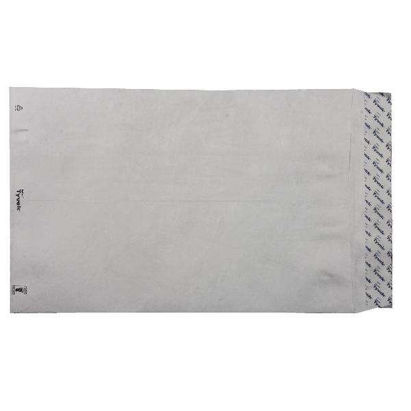 Tyvek Envelope 381x254mm Peel and Seal White (Pack of 100) 557224