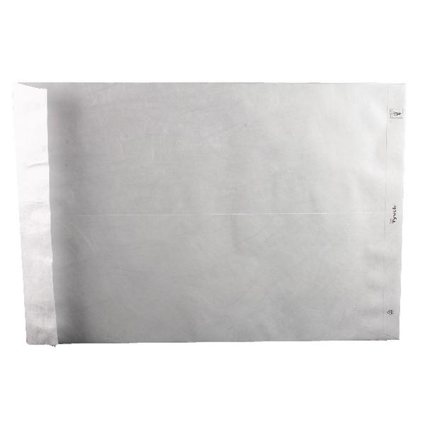 Tyvek Envelope 483x330mm Pocket Peel and Seal White (Pack of 100) 558224
