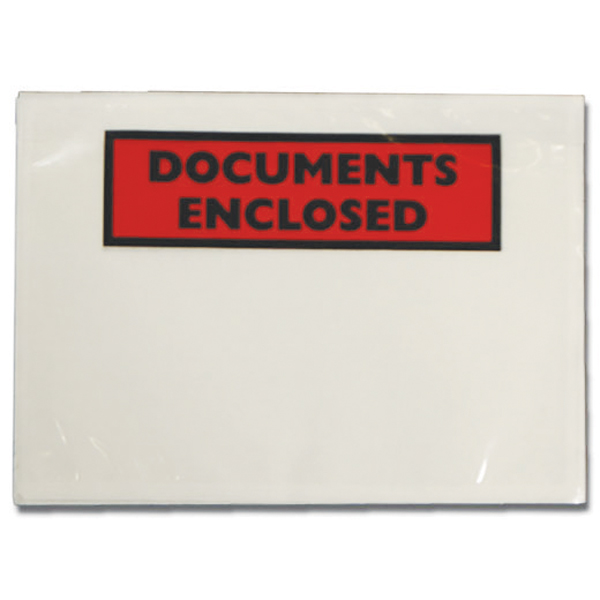 Image for Documents Enclosed Self-Adhesive A6 Document Envelopes (Pack of 1000) 4302002