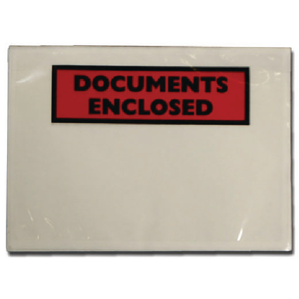 Image for Documents Enclosed Self-Adhesive DL Document Envelopes (Pack of 1000) 4302004