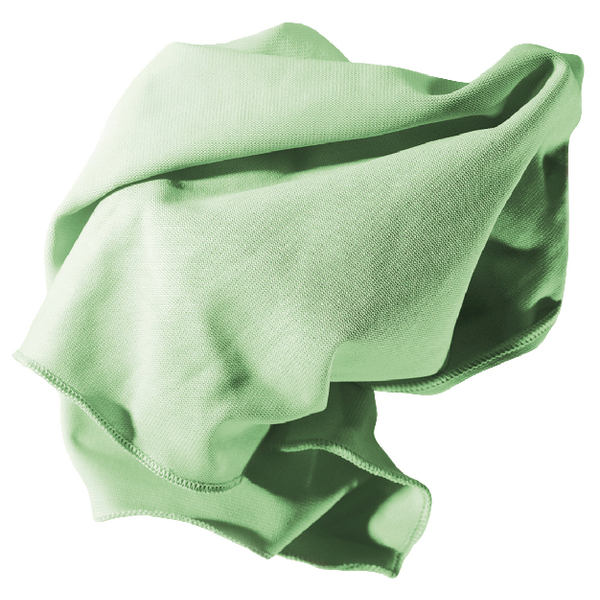 Unger Glass Microfibre Cloth 400 x 400mm Green 95516D