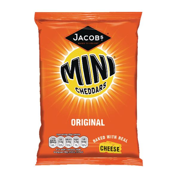 Jacobs Mini Cheddars Original Grab Bag (Pack of 30) 36564