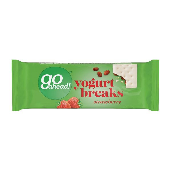 Go Ahead Strawberry Yoghurt Break (Pack of 24) 11300
