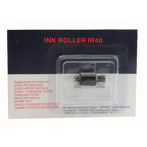 Cash Register Ink Roller Black PC040 IR40