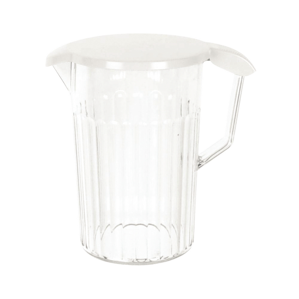 POLYCARB JUG WITH LID 1.4L CLEAR