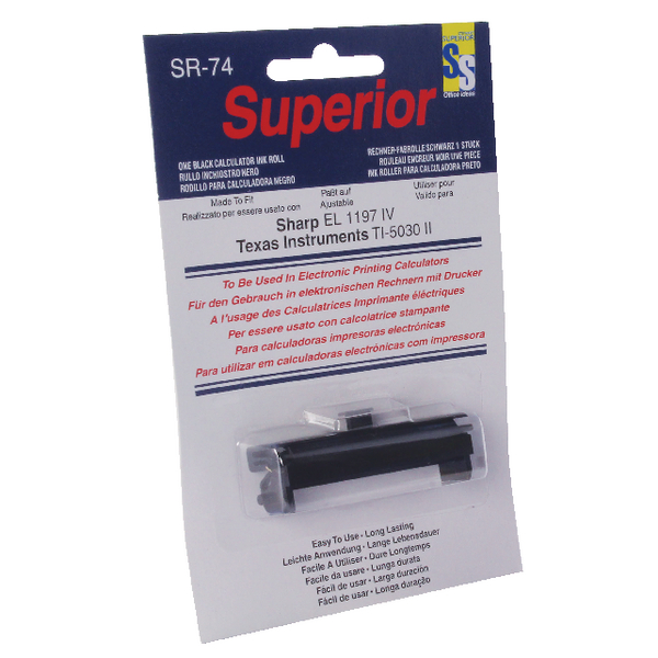Image for Calculator IR74 Black Ink Roller SPR74
