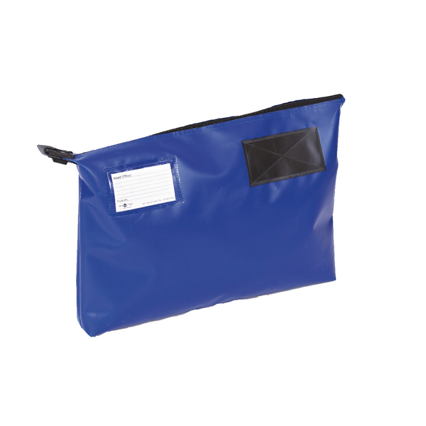 Go Secure Mail Pouch Blue 470x336mm GP2B