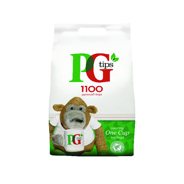 PG Tips Pyramid Tea Bag Pk1100 67395661