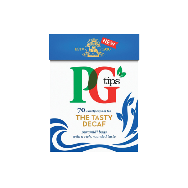 PG Tips Pyramid Tea Bag Decaffeinated (Pack of 80) 28618501