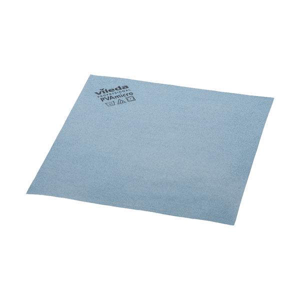 Image for Vileda PVA Micro Cloth Blue (Pack of 5) 143585