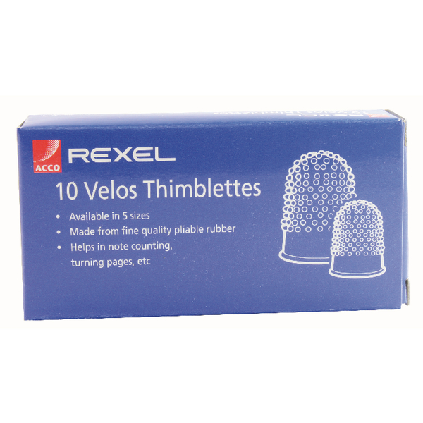 Thimblettes Size 0 (Pack of 10) VL20304