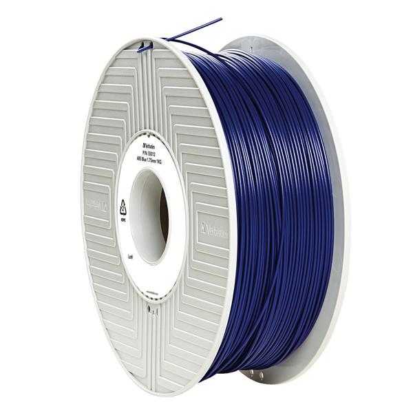 Verbatim ABS 1.75mm 1kg Reel Blue 3D Printing Filament 55012