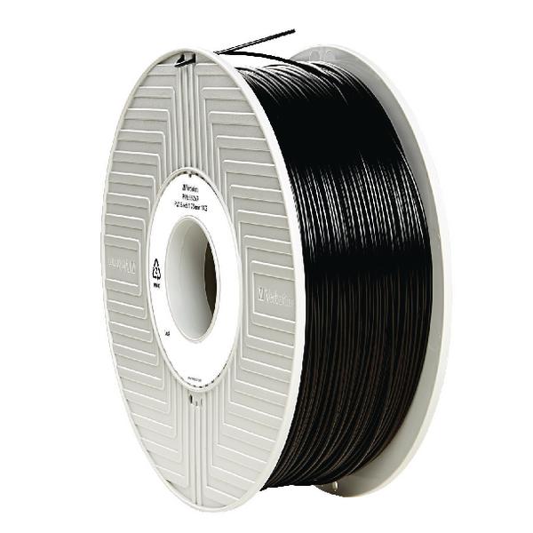Verbatim PLA 3D Black Printing Filament Reel 1.75mm 1kg 55267