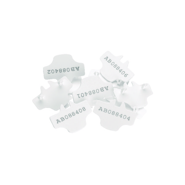 Versapak T2 Numbered Seals White (Pack of 500) NUMBEREDT2