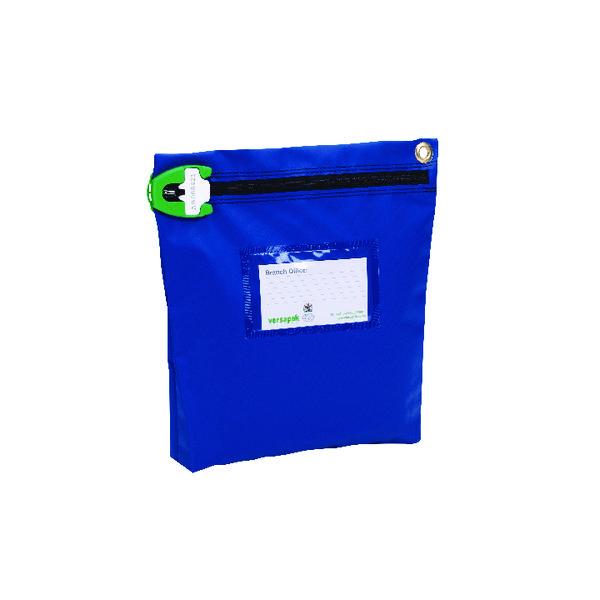 Versapak High Security Pouch 267x267x50mm Blue CCB1_T2SEAL