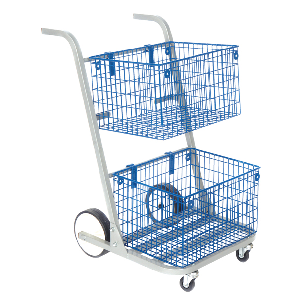 Image for GoSecure Major Mail Trolley Silver MT2SIL
