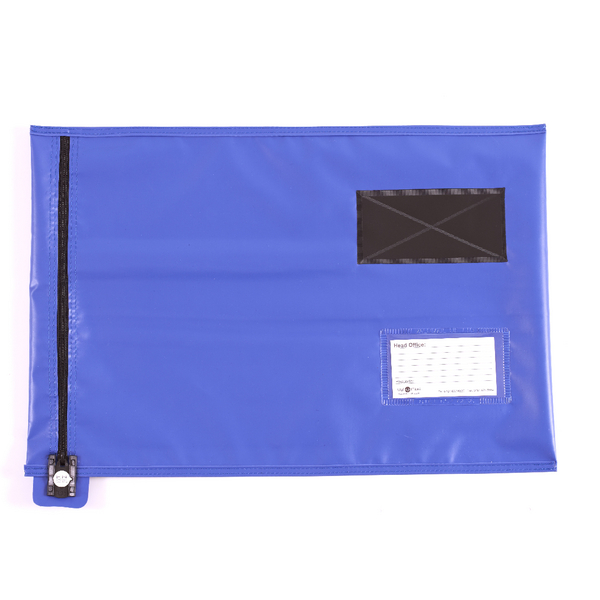 GoSecure Lightweight Security A3 Pouch Blue CVF3