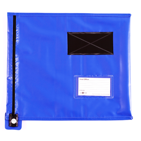 Image for GoSecure Flat Mailing Pouch 355x381mm Blue CVF2