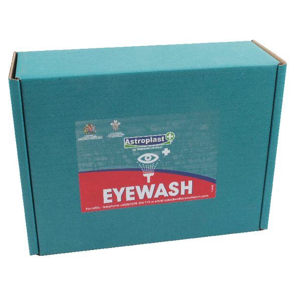 Wallace Cameron 500ml Sterile Eyewash Refill (Pack of 2) 2404039
