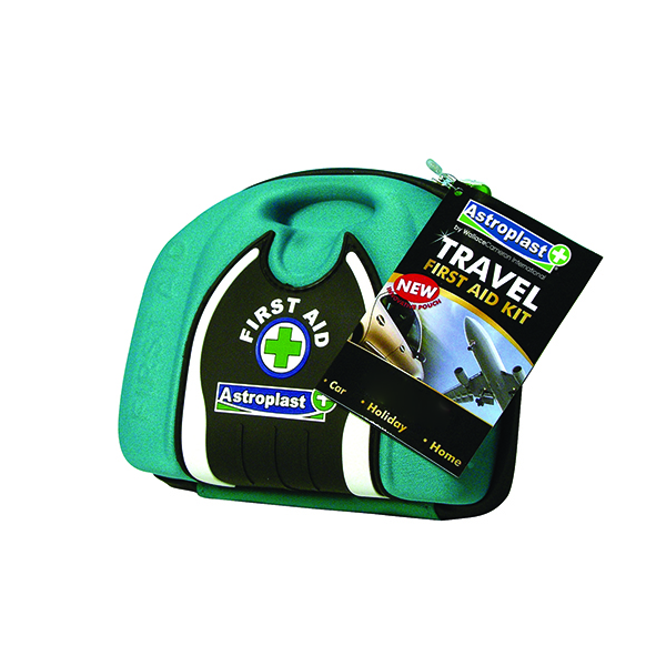 Astroplast Compact Travel Pouch First Aid Kit Green 1015017