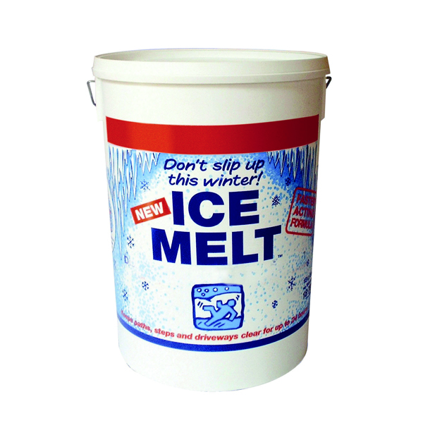 White Magic Ice Melt 18.75kg Dispenser Tub 320407