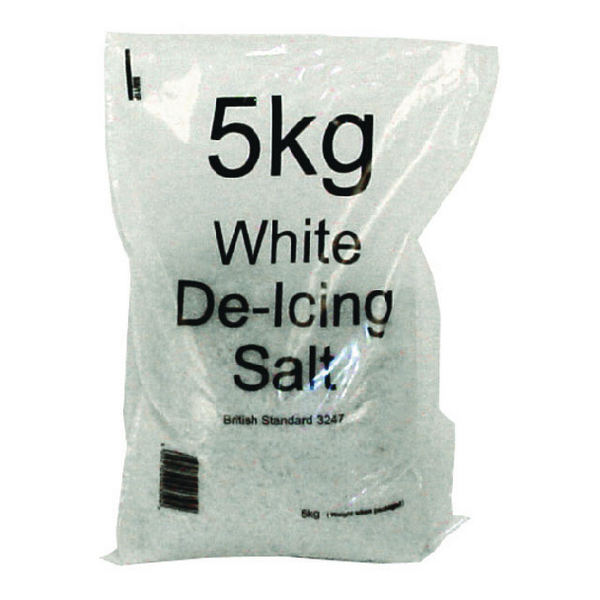 Image for White Winter 5kg Bag De-Icing Salt (Pack of 10) 383497