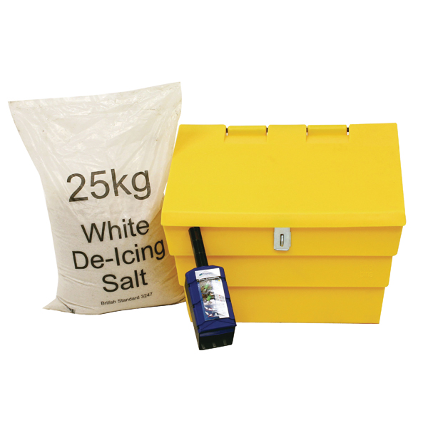 Image for 50 Litre Grit Bin and 25kg Salt Kit 389115