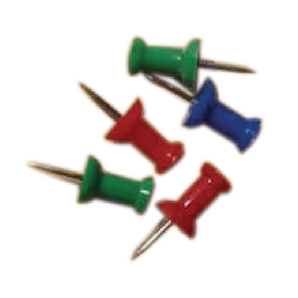 Push Pins Assorted Pk20 20471