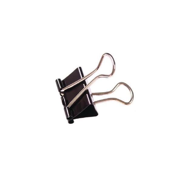 Black 41mm Foldback Clip (Pack of 10) 23371