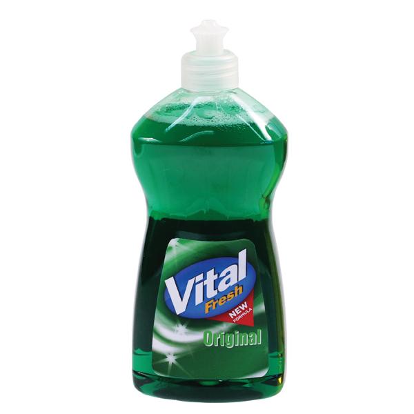 Vital Fresh Washing Up Liquid 500ml (Pack of 12) WX00215