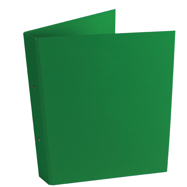 10 x Green A4 2-Ring Ring Binder (25mm capacity)