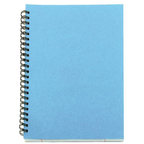 Image for A5 Spiral Pad 80 Leaf Blue