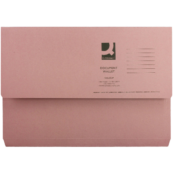 Pink Document Wallet (Pack of 50) 45917EAST