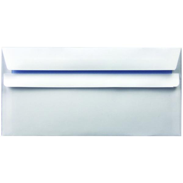 Envelope DL 90gsm Self Seal White (Pack of 1000) WX3480
