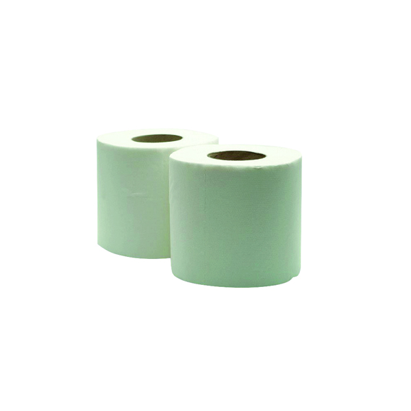 36 x White 320 Sheet Toilet Roll (100% recycled material, soft and absorbent)