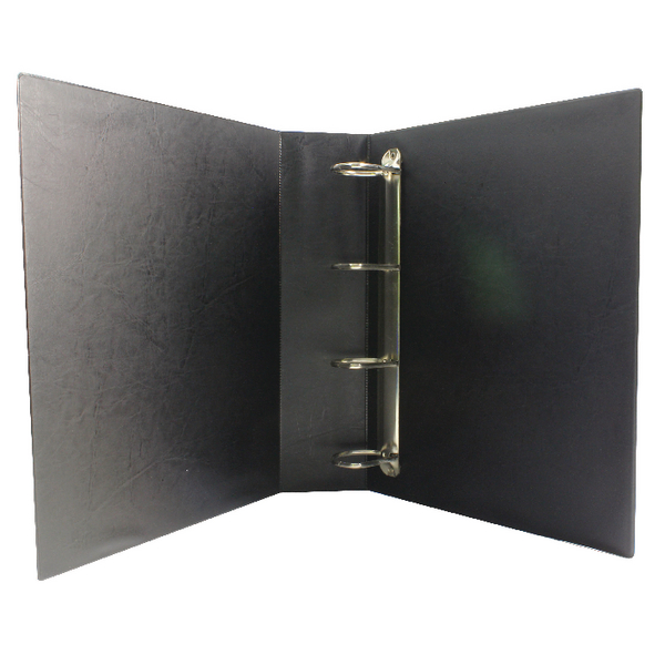 Image for Black 50mm 4D Presentation Ring Binder (Pack of 10)