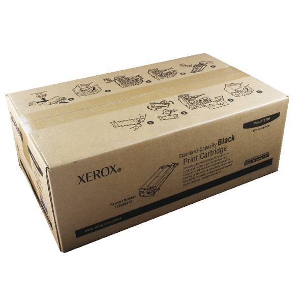 Xerox Black Toner Cartridge 113R00722
