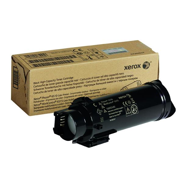 Xerox HY Workcentre 6515 Phaser 6510 Black Toner Cartridge 106R03480