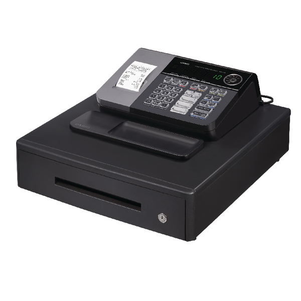 Casio Cash Register Black CASIO SE-S10MD