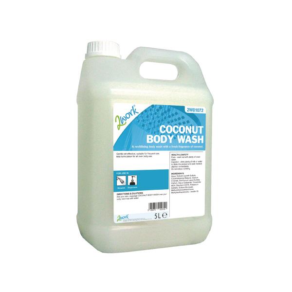 2Work Coconut Body Wash 5L