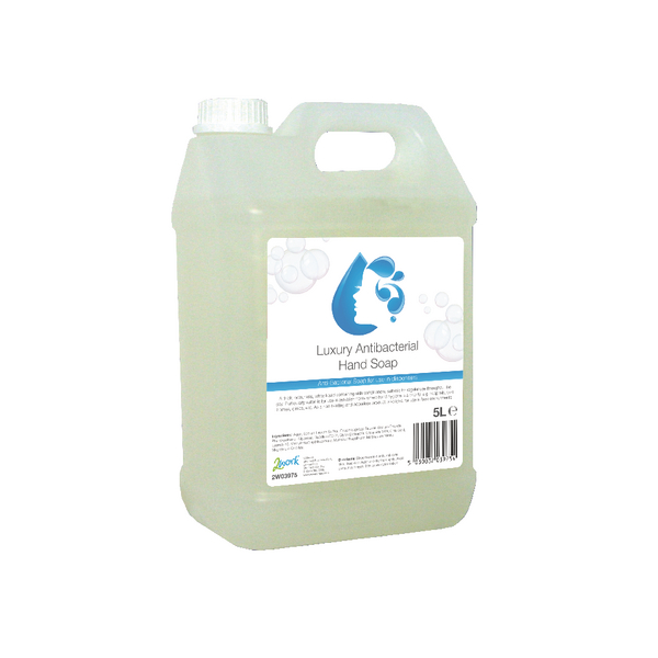 Image for 2Work Anti-bacterial Hand Wash 5 Litre