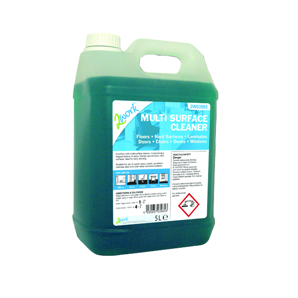 2Work MultiPurpose Cleaner Concentrate 5 Litre