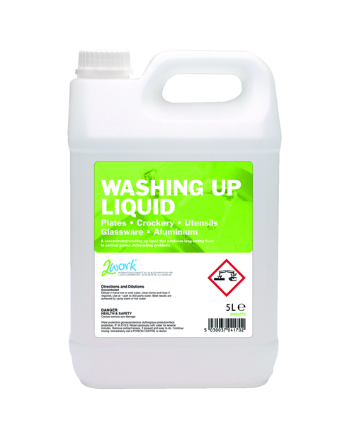 2Work Economy Washing Up Liquid 5 Litre