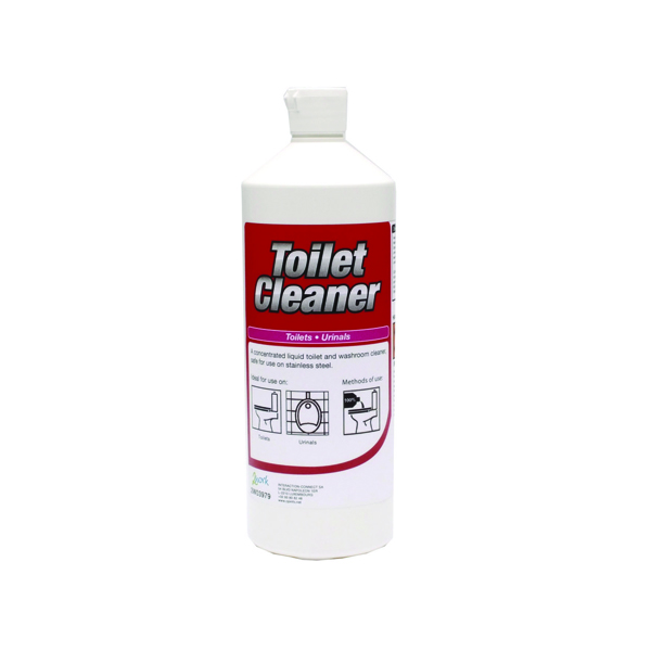 2Work Daily Use Perfumed Toilet Cleaner 1 Litre (12 Pack)