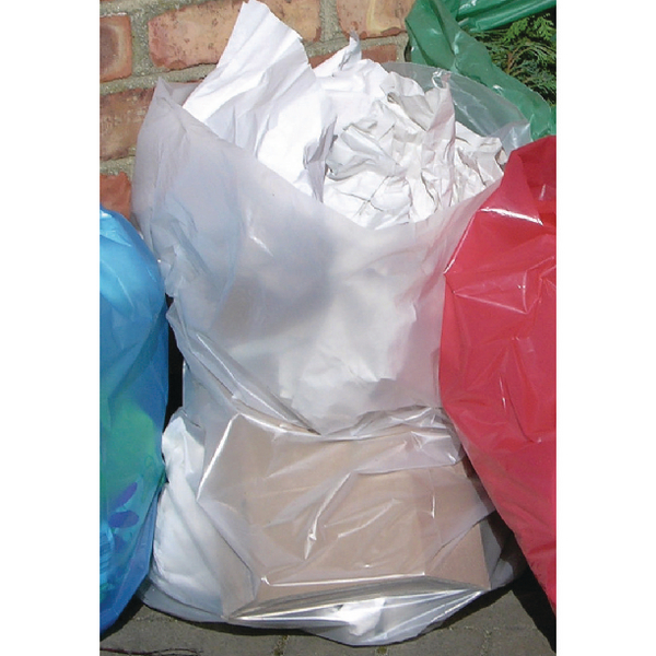 2Work Clear Polythene Bags On a Roll (250 Pack) 2W06255