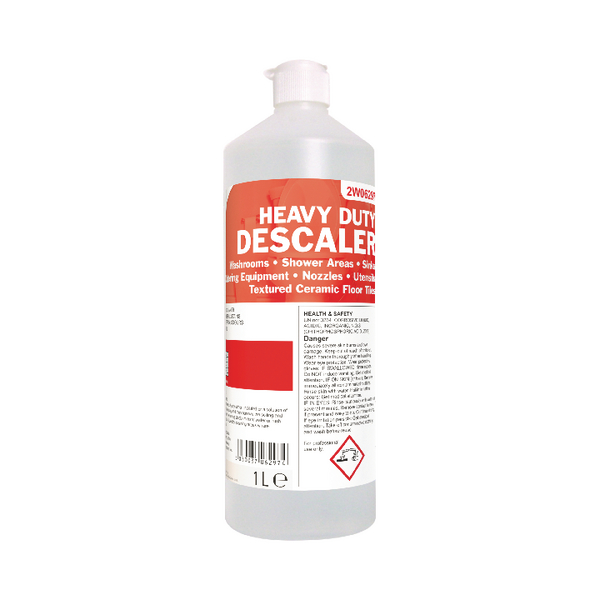 2Work Heavy Duty Descaler and Toilet Cleaner 1 Litre (12 Pack)