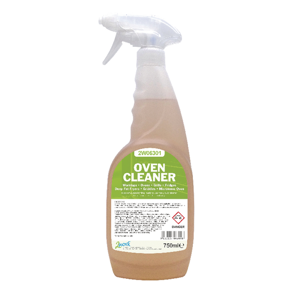 2Work Oven Cleaner 750ml (Pk 6) 420 SVW