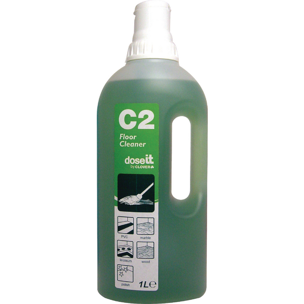DoseIT C2 Floor Cleaner 1 Litre (Pack of 8)