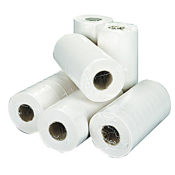 2Work White 2- Ply Hygiene Roll 250mmx40m (Pack of 18)